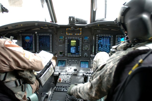 CH-47F Cockpit. (Photo courtesy of U.S. Army)