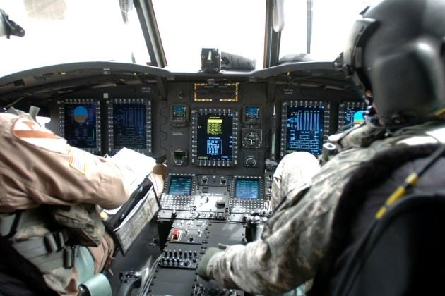 CH-47F Cockpit. (Photo courtesy of U.S. Army)