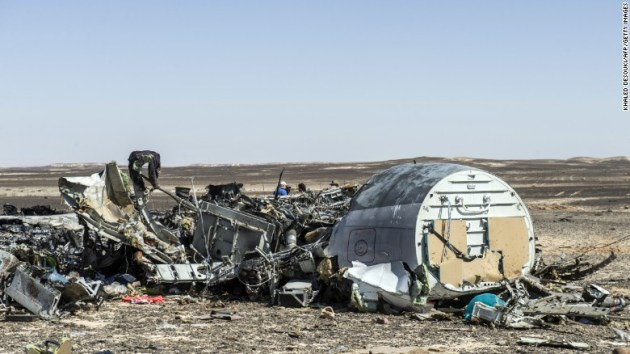 Russian Airliner Down In Egypt
