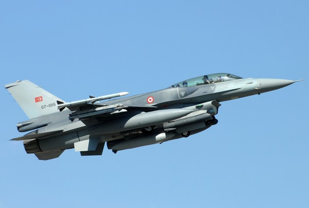 Turkish Air Force F-16D