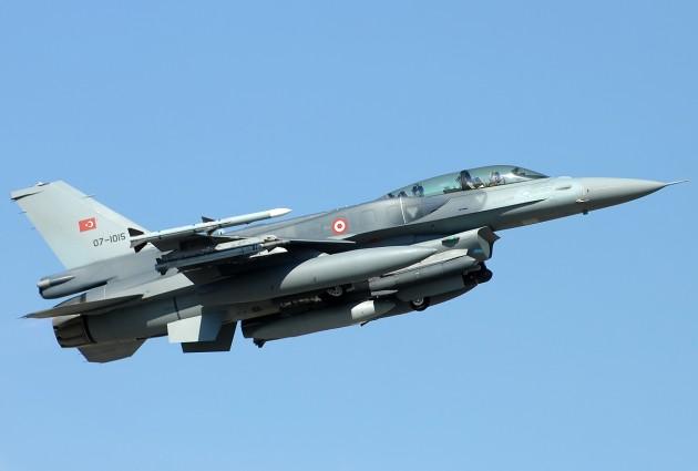 Turkish Air Force F-16D