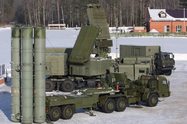 How scary is the Russian S-400 SAM?