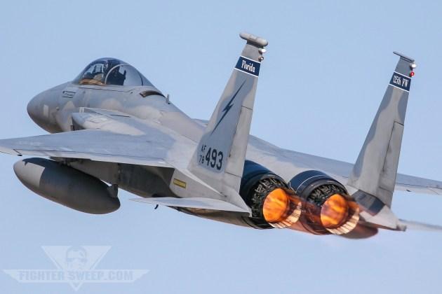 Burner Friday: 125th Fighter Wing F-15C Eagle!