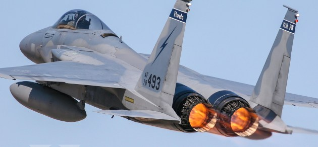 Burner Friday: 125th Fighter Wing F-15C Eagle!