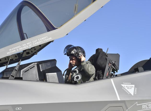F-35A Atlantic Crossing