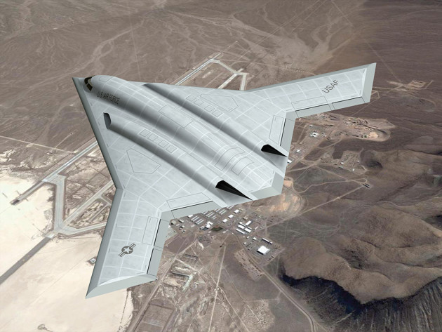 (LRS-B concept drawing courtesy of Aviation Week)