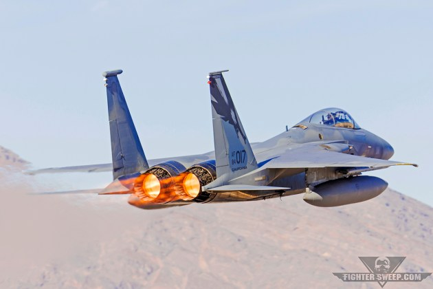 Burner Friday: 144th Fighter Wing F-15C Eagle