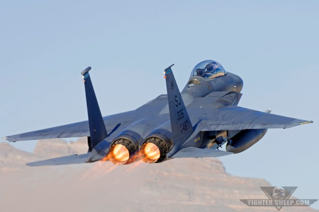 This F-15E Strike Eagle is credited with the only air-to-air thus far in the type's history, and is currently the flagship of the 335th Fighter Squadron at Seymour Johnson Air Force Base, North Carolina. (Photo by Scott Wolff)