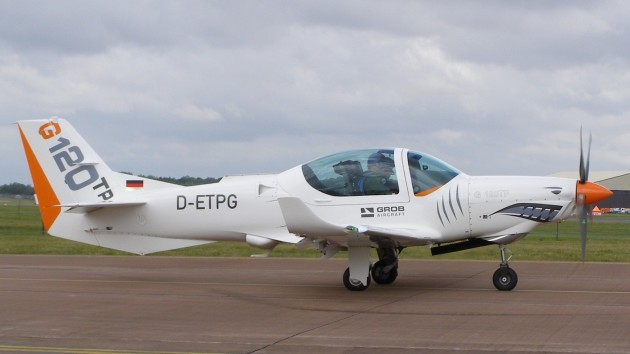 From G120TP aircraft, pictured here in 2011. (Photo courtesy of Wikipedia)