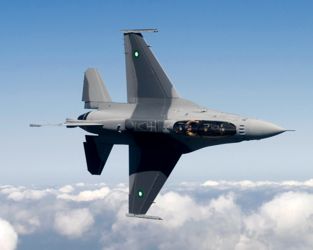 Air Force officials are set to deliver the first of 18 new F-16 Fighting Falcon jet fighters to the Pakistan air force. (U.S. Air Force photo)