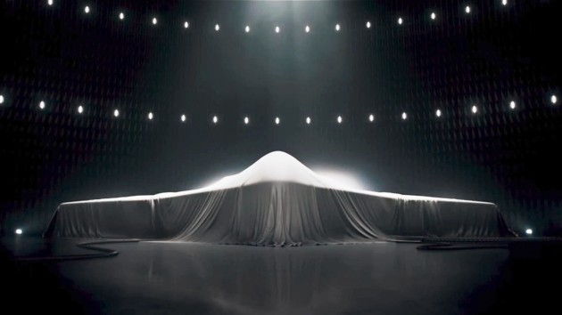 A Northrop-Grumman tease of the new LRS-B strategic bomber. (Photo courtesy of YouTube)
