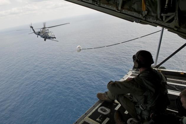Kadena Launches First MC-130J Five-Ship Formation