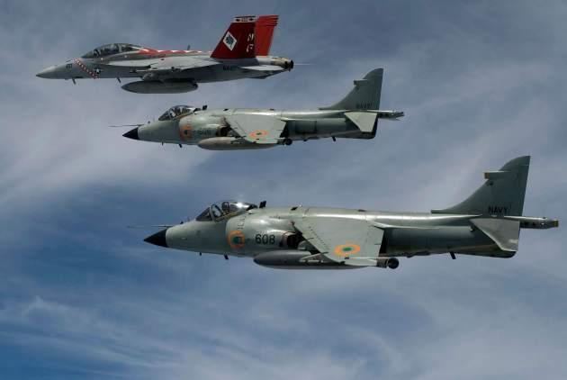 Sea Harrier Retires From Indian Navy