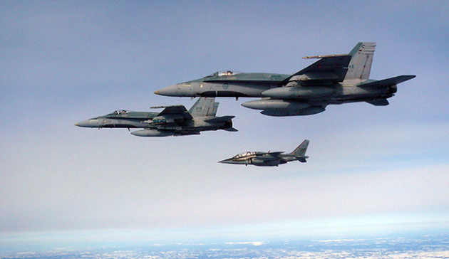 Canada Looking For Aggressor Fleet To Train RCAF