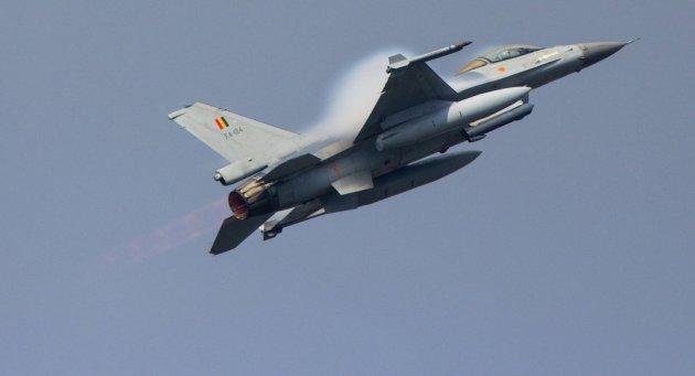 A Belgian F-16AM Fighting Falcon. (Photo courtesy of Sputnik News)