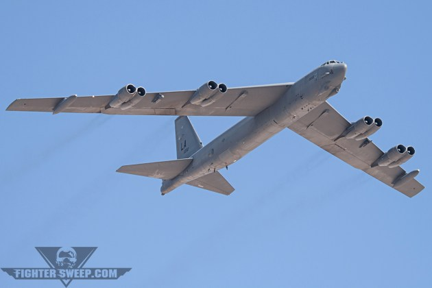 Barksdale B-52's Fly 35-Hour Mission