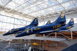 Blue Angels Overhead Display, Credit: NavyDads.com