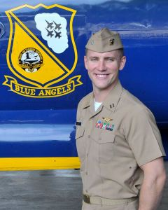 "Navy Lt. Nate Scott, 31, of Danville, California, is an F/A-18 Hornet Instructor Pilot currently assigned to Strike Fighter Squadron ONE ZERO SIX (VFA-106), the ""Gladiators,"" at NAS Oceana, Virginia. He is a 2007 graduate of the University of Southern California, Los Angeles."