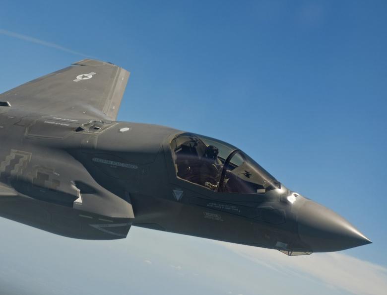 The F-35 Cockpit area. Courtesy Lockheed Martin