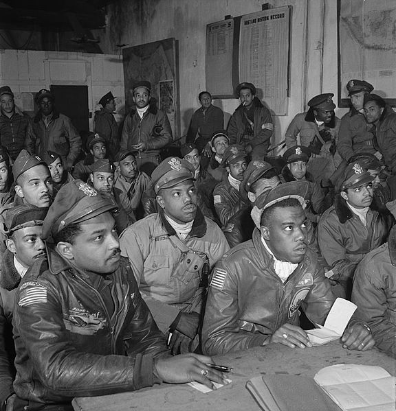 an analysis of tuskegee airmen of world war ii Tuskegee airmen, the 442nd regimental  african american involvement in world war ii,  mary source analysis tool, and analyzing photographs and prints 4.
