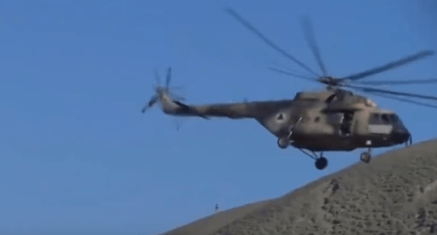 Afghan_General_Mohayedin_Ghori_helicopter