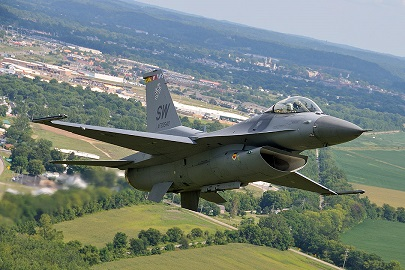 f-16b viper demonstration team