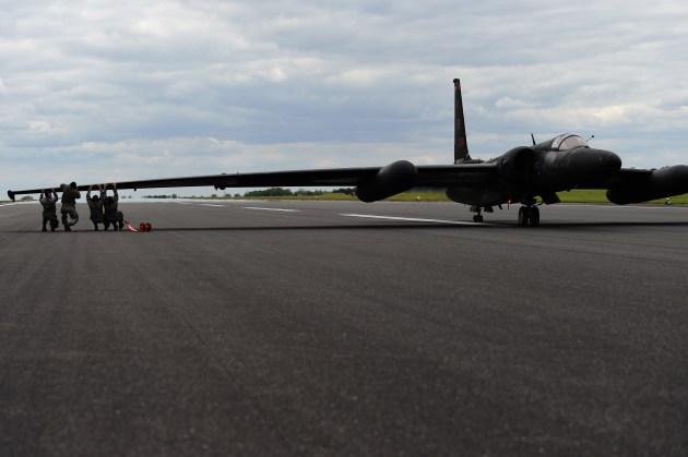 u-2 landing gear