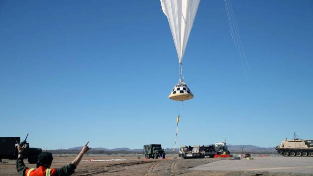 Boeings CST-100 Starliner to perform a drop test of the spacecrafts parachute system