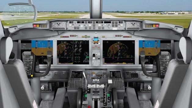 737 MAX Flight Deck