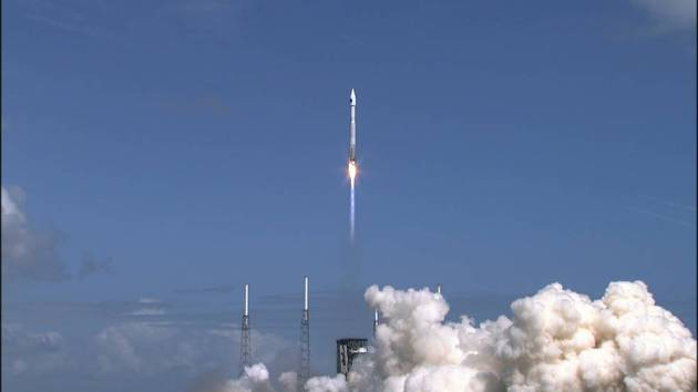 Orbital ATK Cygnus Launches To Space Station nasa