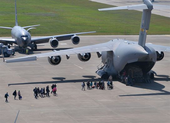 Incirlik Air Base c-17- evacuation