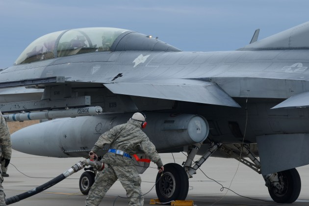 F-16 Fighting Falcon Fighter Jets Fuel for Flight