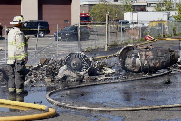 learjet crash teterboro airport