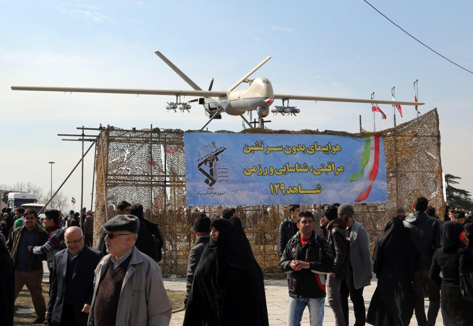Iranian made Shahed 129 drone