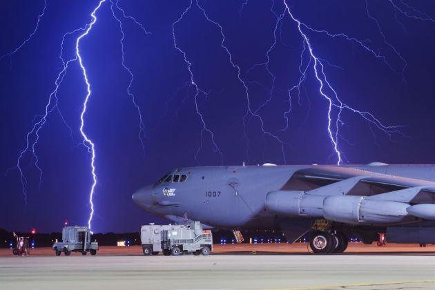 B-52H Stratofortress at Minot Air Force Base
