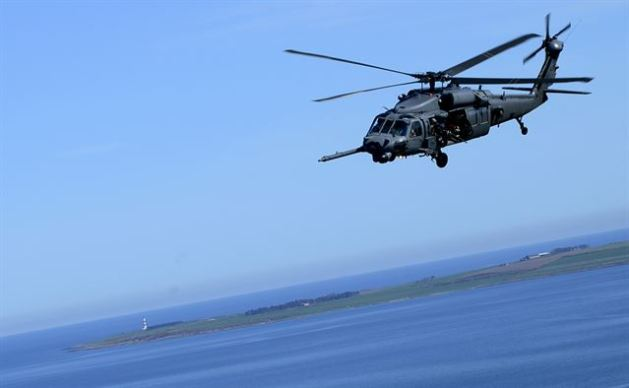 HH-60G Pave Hawk assigned to Royal Air Force Lakenheath's 56th Rescue Squadron
