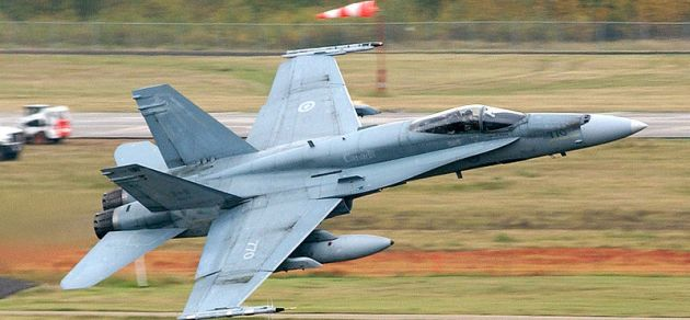 Royal Canadian Air Force RCAF CF-18 Hornet Cold Lake
