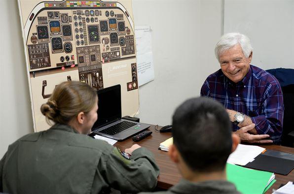 Dale Hopkins, T-1A Jayhawk simulation instructor pilot