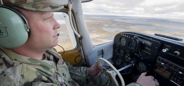 Sgt. 1st Class Robert Masterman, an Alaska National Guard recruiter