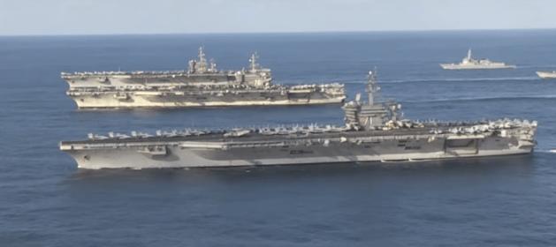 three_us_aircraft_carriers_korea_trump