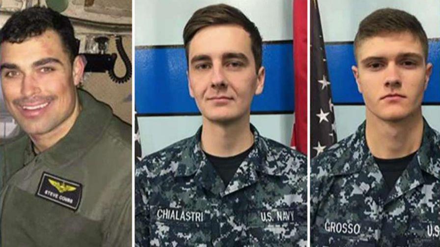 us navy missing c-2 cargo plane crew members