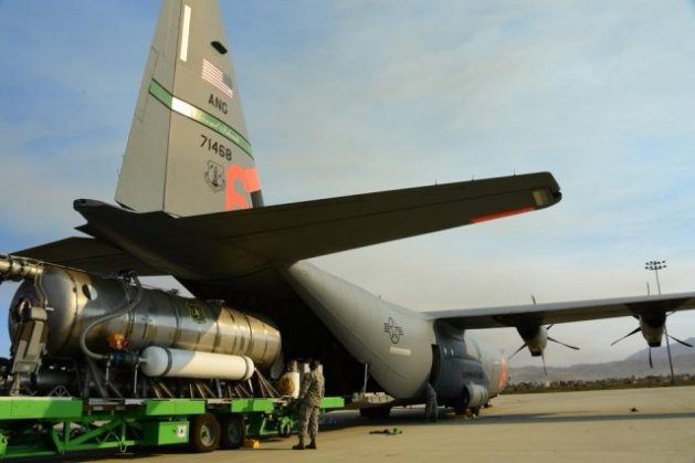 California National Guard's 146th Airlift Wing prepares aircraft up to support CALFIRE and help its Ventura County neighbors impacted by the Thomas Fire