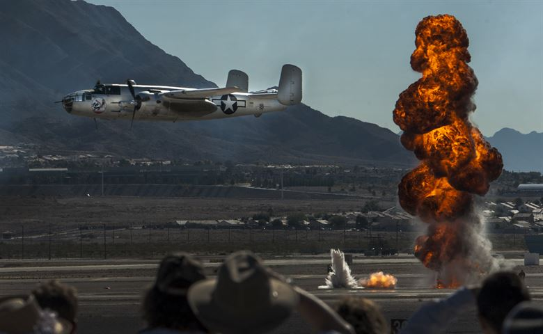 aviation nation bombs nellis afb