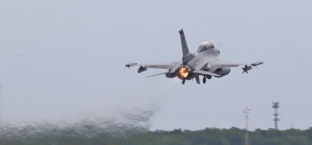 New Jersey Air National Guard F-16D Fighting Falcon from the 177th Fighter Wing