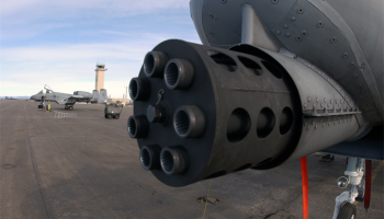 Watch: A-10 30mm Cannon verses Taliban Vehicle...Guess Who Wins?