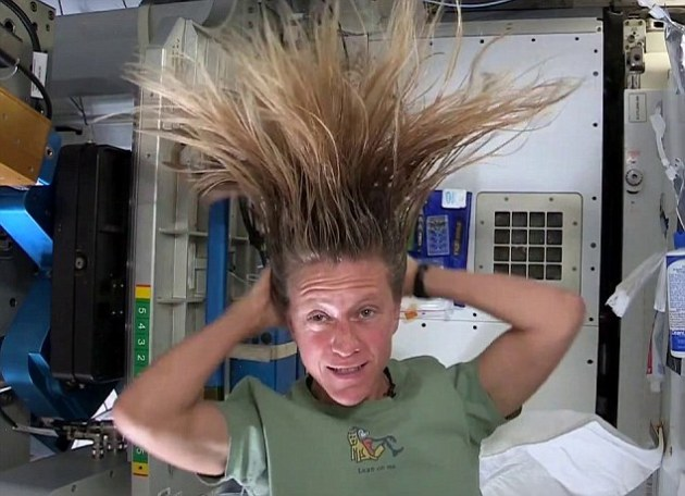 How to Wash Your Hair in Space nasa