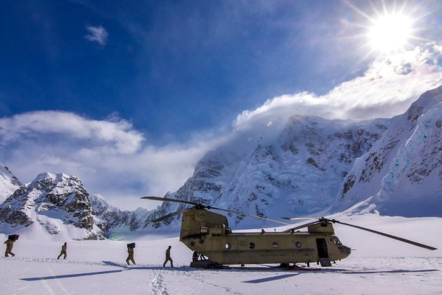 Aviators help National Park Service prepare for Denali climbing season