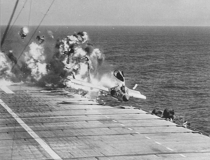 us navy aircraft carrier accidents training video 1965