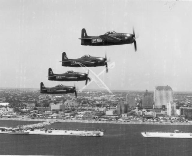 navy Blue Angels F8F Bearcat