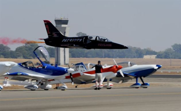 Patriots Jet Team at the Beale Air & Space Expo